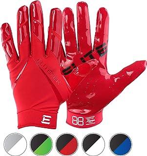 EliteTek RG-14 Football Gloves – Youth Football Gloves – Football Gloves Kids..
