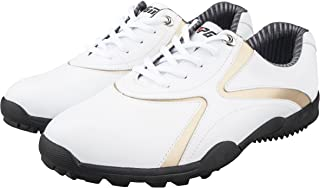 Men's Microfiber Leather Ultralight Golf Shoes