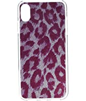 Kate Spade New York - Glitter Panthera Phone Case for iPhone XS Max