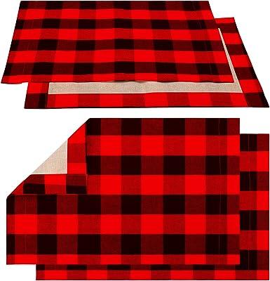 Kess InHouse Snap Studio Pine Pattern Red Maroon Table Runner
