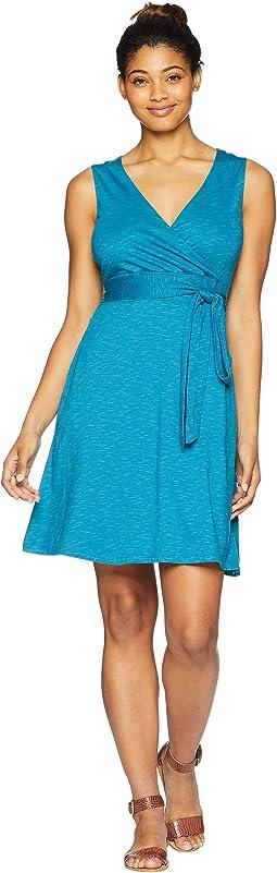 Cue Wrap Sleeveless Dress