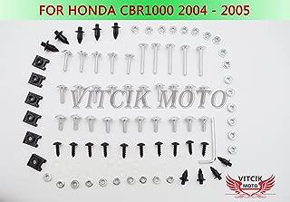 VITCIK Kit Completo de Tornillos y Pernos de Carenado para TMAX500 2008 2009 2010 2011 2012 TMAX 500 08 09 10 11 12 Clips de Sujeci/ón en Aluminio CNC de La Motocicleta Azul /& Plata