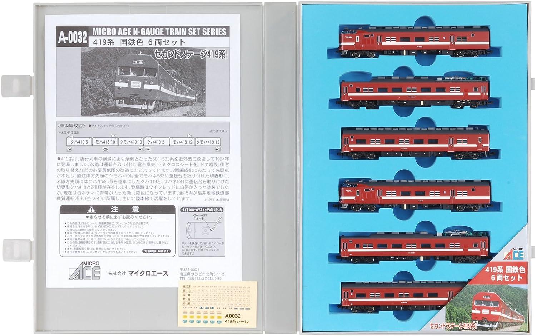 Spur N A0032 419 System JNR Farbe 6-Wagen-Set