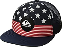 Faded Out Trucker Hat (Big Kids)