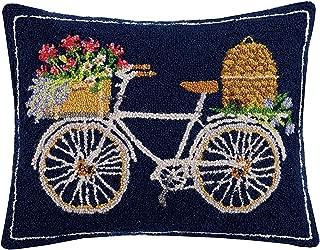 Mary Lake Thompson Spring Bee Bike Hook, 16x20 Throw Pillow