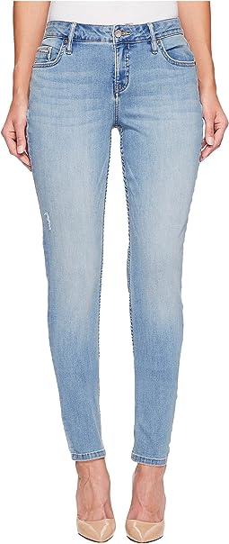 Curvy Skinny Jeans in Lake Placid Wash