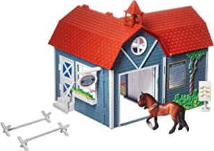 Breyer Stablemates Riding Camp Horse Toy | 8 Piece Play Set with 1 Horse | 9.75