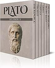 Plato Six Pack 2 (Illustrated): The Republic, Timaeus, Critias, Meno and Essay (English Edition)