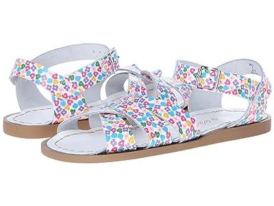 Salt Water Sandal by Hoy Shoes The Original Sandal (Toddler/Little Kid) (Floral) Girls Shoes