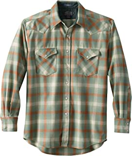 Men's Long Sleeve Button Front Classic-fit Canyon Shirt