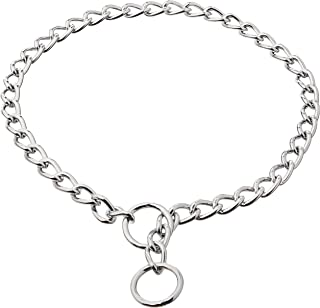 Coastal Pet Products DCP554030 30-Inch Titan X-Heavy Chain Dog Training Choke/Collar with 4mm Link, Chrome