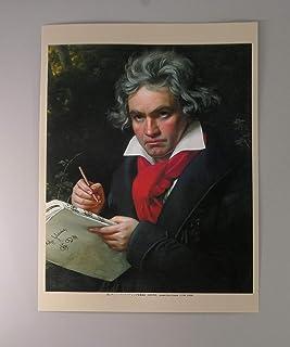 BiblioArt Series ベートーヴェンの肖像画ーA4版サイズ額絵