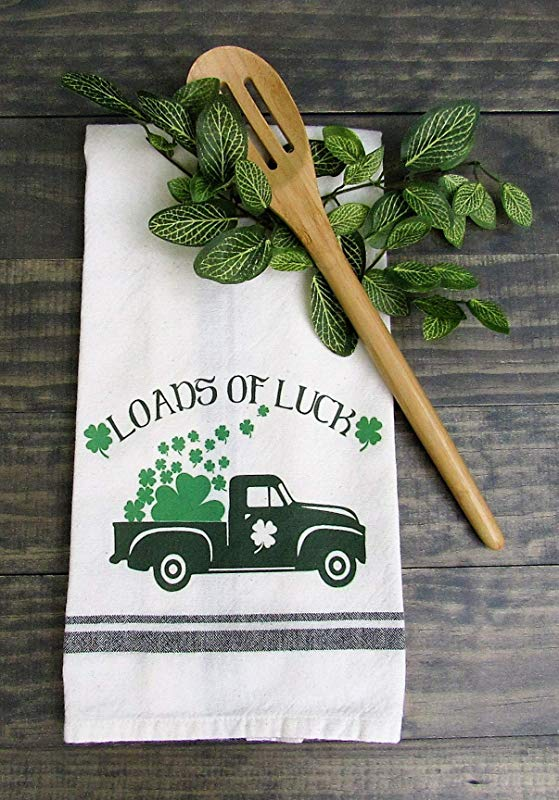 St Patrick S Day Truck Kitchen Towel