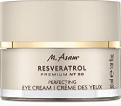 M. Asam, Resveratrol NT50, Anti-Aging Perfecting Eye Cream, Smoothing, Rejuvenating (Fragrance Free) - 1 Ounce