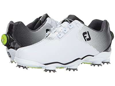 FootJoy DNA Helix (White/Black Bicycle Toe) Men