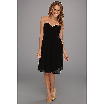Donna Morgan Morgan Sweetheart Dress (Black) Women