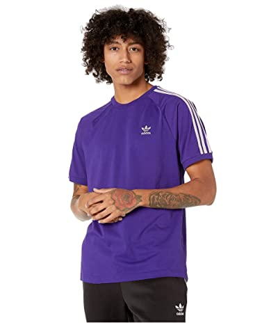 adidas Originals BLC 3-Stripes Tee (Collegiate Purple) Men