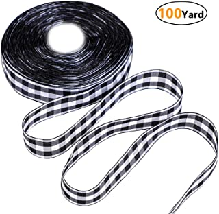 Best christmas ribbon black and white Reviews