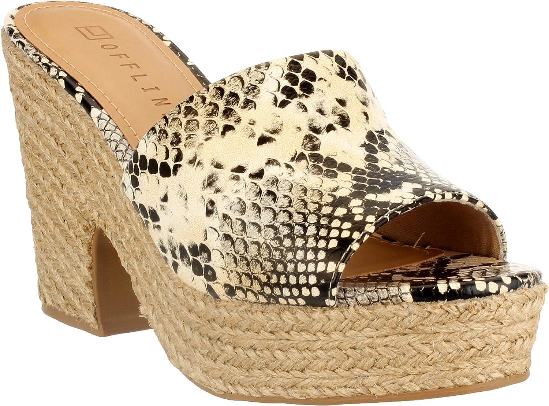 Offline Fern Women's Platform Slide Sandal