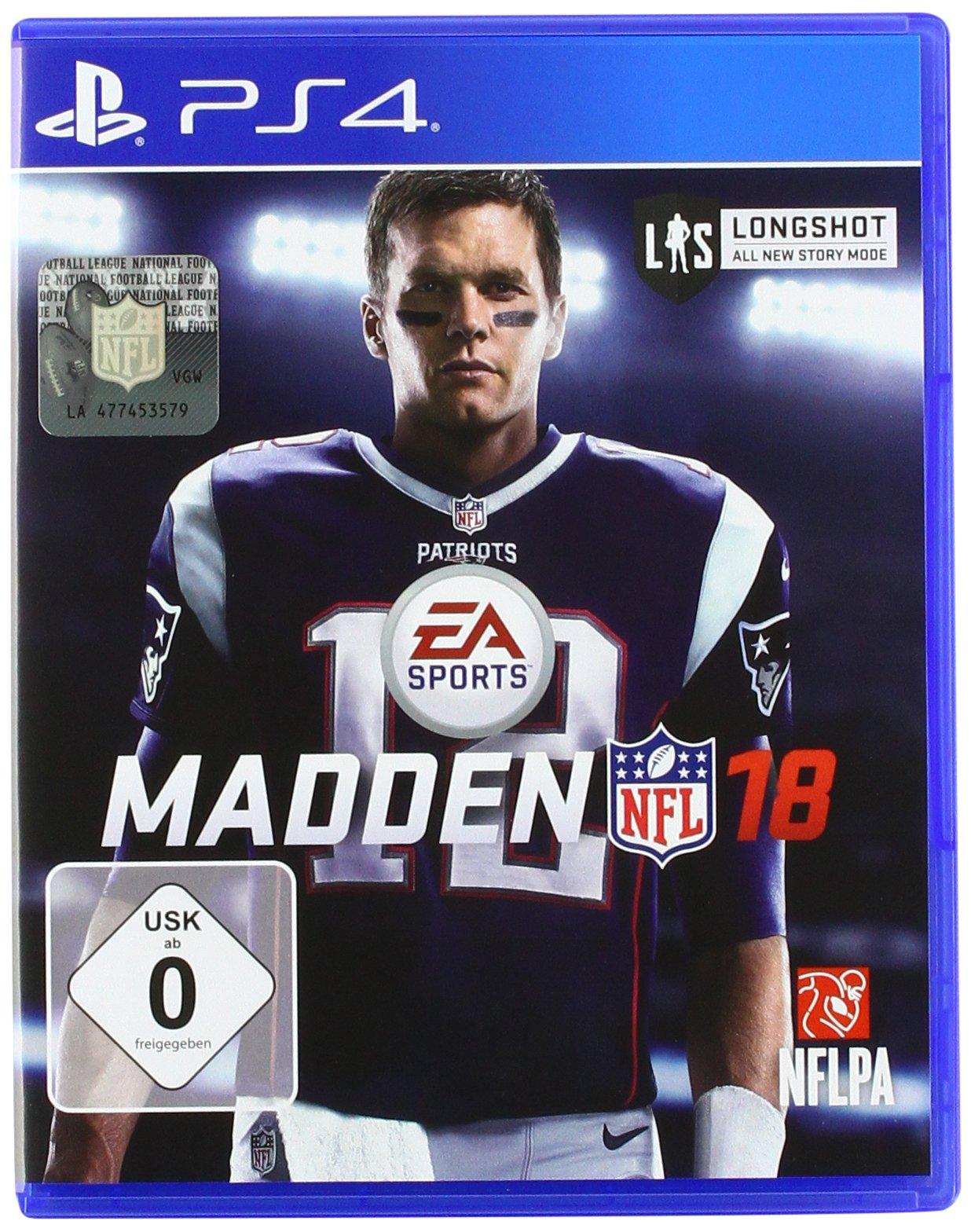 Madden NFL 18 - PlayStation 4 [Importación alemana]: Amazon.es: Electrónica