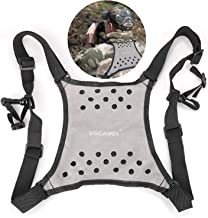 USCAMEL Harness Strap-Better Bird Watching Adventures by Having Binoculars Within Reach for Quick Views. Removes Neck Strain from Carrying Heavy-Black