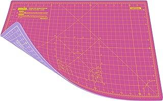 Courtepointe ANSIO Tapis de coupe pliable auto-cicatrisant A1 Scrapbooking Couture Tissu et papercraft Id/éal pour Lartisanat rose 34 x 22,5 pouces Imp/érial