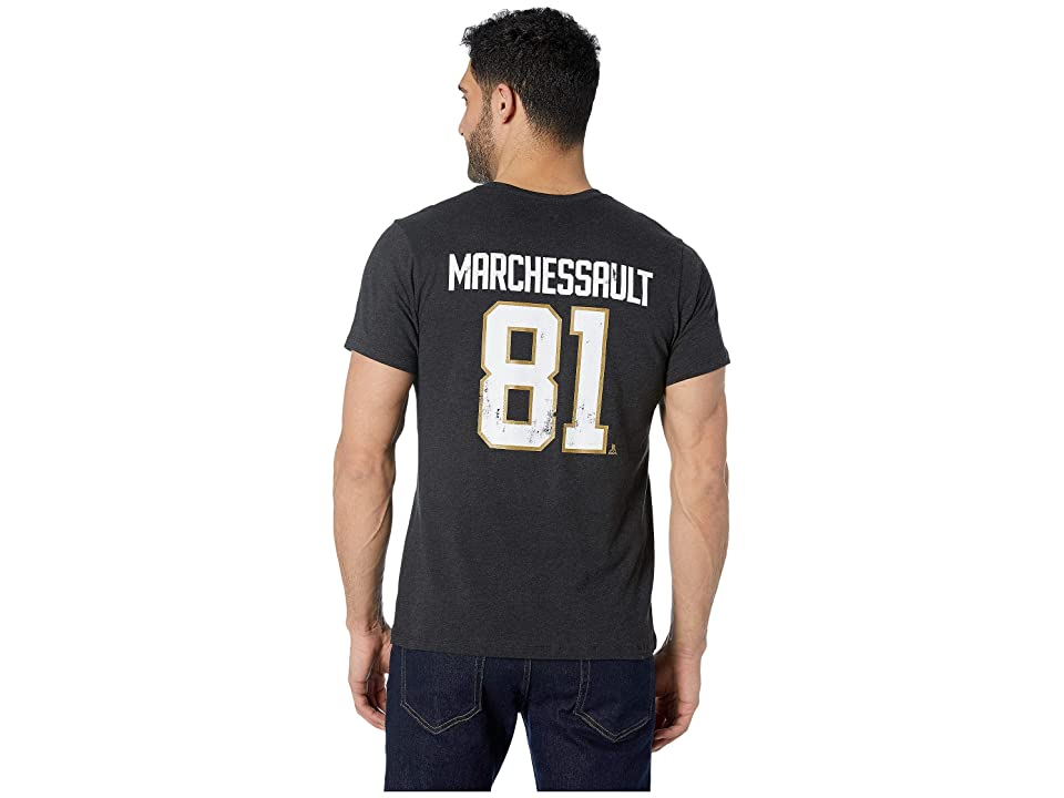 '47 Vegas Golden Knights Marchessault Distressed MVP Club Tee  Black