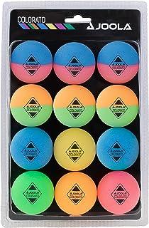 Joola Colorato Table Tennis Ball Set with 12 Colourful Balls Table Tennis Balls