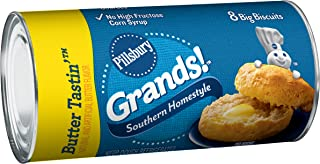 Pillsbury Grands!, Southern Homestyle, Butter Tastin', 8 Biscuits, 16 oz. Can