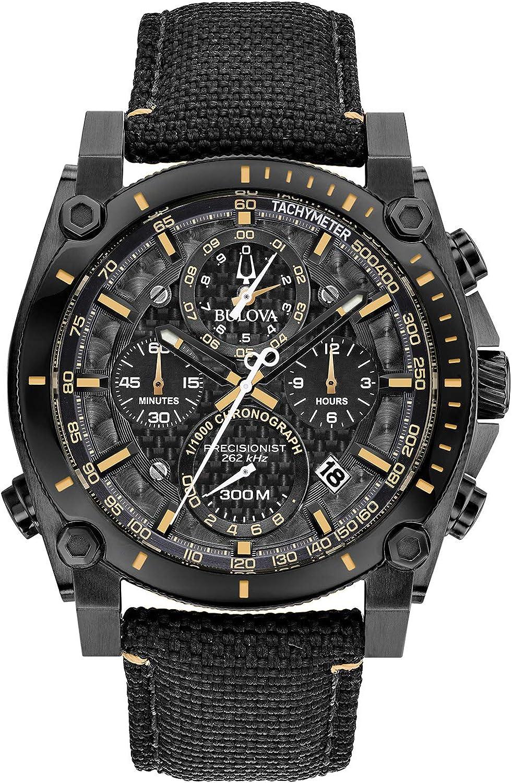 Bulova Reloj Cronógrafo para Hombre de Cuarzo con Correa en Nailon 98B318