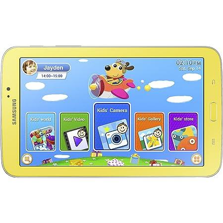 Amazon Com Samsung Galaxy Tab 3 Kids Edition 7 Inch With Orange Bumper Case Computers Accessories