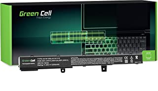 Green Cell® Standard Serie A41N1308 A31N1319 Batería para ASUS X551 X551C X551CA X551M X551MA X551MAV R512 R512C R512CA F551 F551C F551M D550 D550C D550CA Ordenador (3 Celdas 2200mAh 11.25V Negro)
