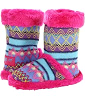 M&F Western - Knit Print Bootie Slippers (Toddler/Little Kid/Big Kid)