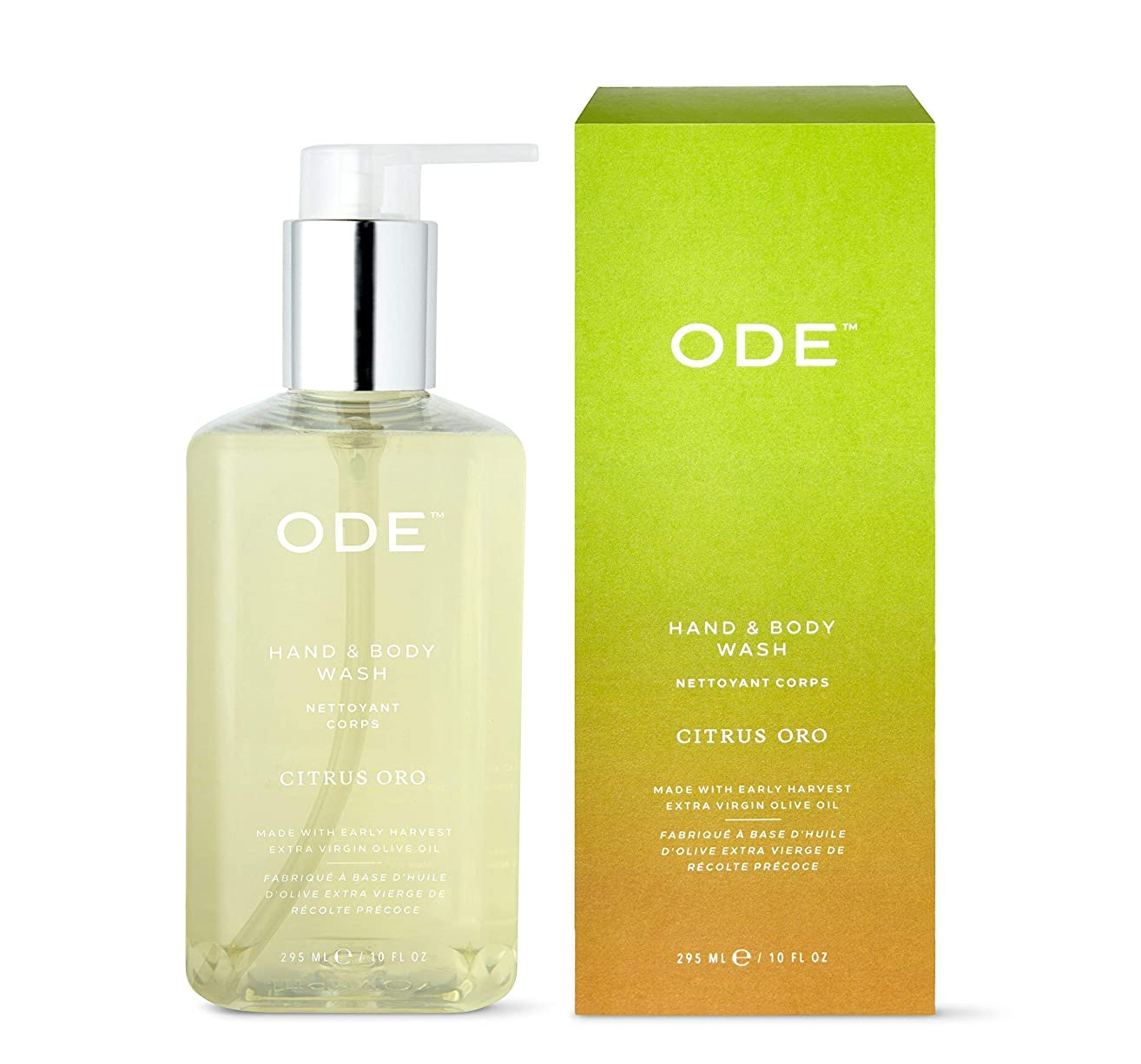 ODE natural beauty - Citrus Oro Hand and Body Wash