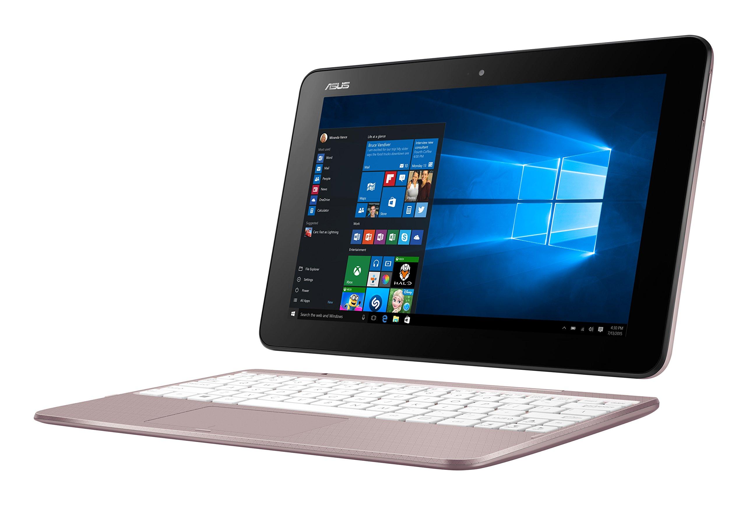 Asus Portátil de 10,1 pulgadas con procesador Intel Atom Quad Core Z8350 dorado oro rosa 4 GB DDR3: Amazon.es: Informática