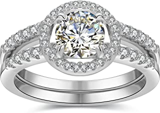 Best 1 ct oval halo engagement ring Reviews
