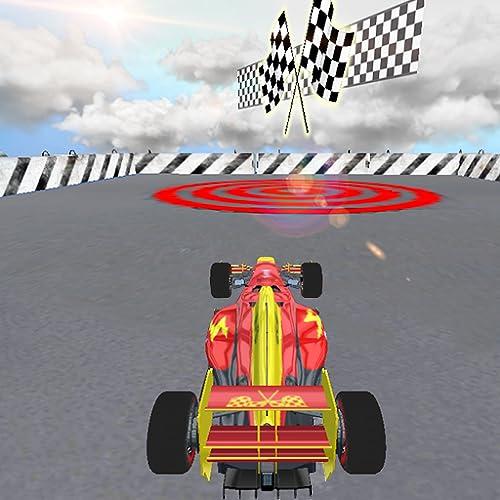 Super Stunt Mega Ramp Fórmula de velocidad más loca Simulador de carreras de autos: Ultimate F1 Car Driving 3D Games 2020