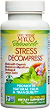 MycoBotanicals Stress Decompress Mushrooms and Herbs Capsules, Aids Mental Relaxation, Calm, Energy, and Refreshed Adrenals with Lion's Mane, Reishi, and Ashwagandha, Non-GMO, Vegan, Organic, 60 Count