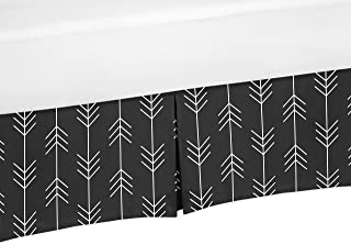 black arrow crib skirt