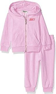 Juicy Couture Baby Girls 2 Pieces Jog Set