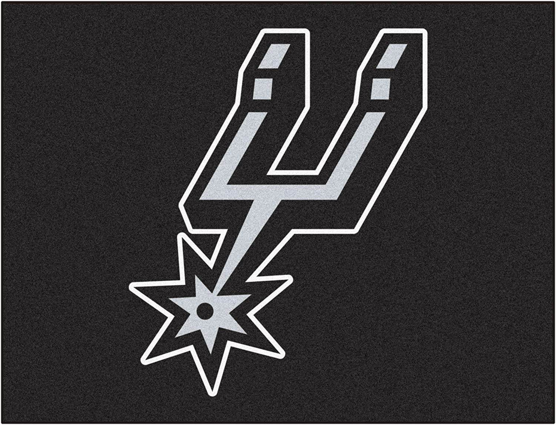 FANMATS 19475 33.75 x42.5  Team color NBA  San Antonio Spurs AllStar Mat