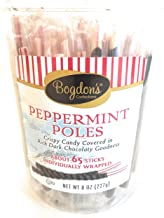 Bogdon's Old Fashioned Peppermint Sticks Tub 8 oz each - Gourmet Christmas Gift for the Holidays (1 Item per Order, Not per Case)