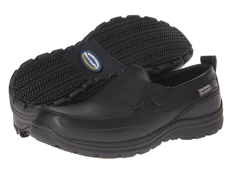 SKECHERS Work Hobbes (Black) Men