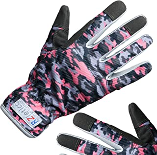 Garden Gloves Women Premium, For Gardening, Roses & Yard Work with Protective Grip and Breathable Microfiber with Touchscr...