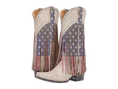 Old Gringo Sue Ellen (Taupe) Cowboy Boots
