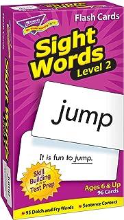 TREND enterprises, Inc. Sight Words – Level 2 Skill Drill Flash Cards