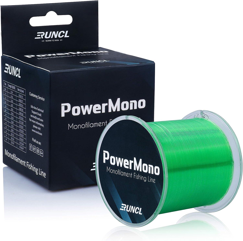 RUNCL Inexpensive PowerMono Fishing Line Monofilament Max 80% OFF 500 300