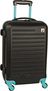 Nautica Hardside Carry On Luggage-20 Inch Spinner Wheels Suitcase