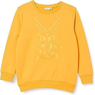 NAME IT NMMOBUGSY LS SWEAT BRU jongens Pullover trui