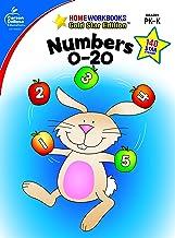 Numbers 0-20, Grades PK - K (Home Workbooks)